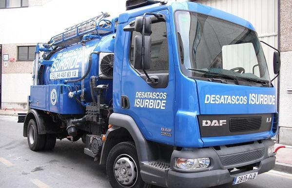 Contrato de mantenimiento de redes de saneamiento en Bizkaia, Araba y Cantabria.