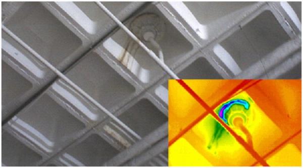camara termografica revision de instalaciones