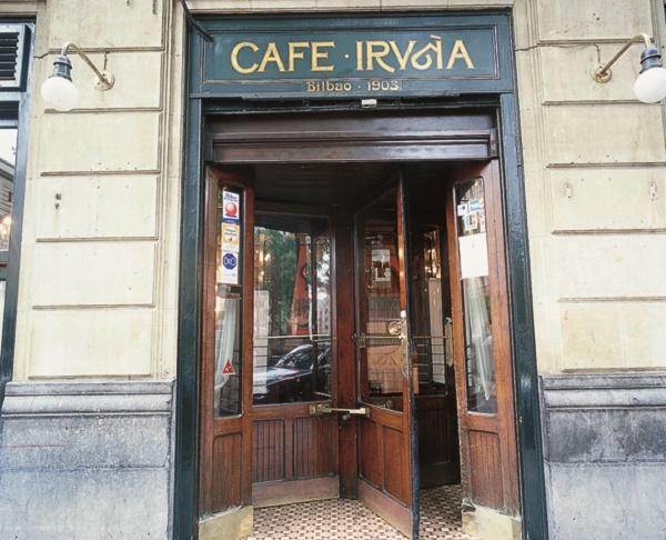 obras de saneamiento cafe Iruñaa Bilbao