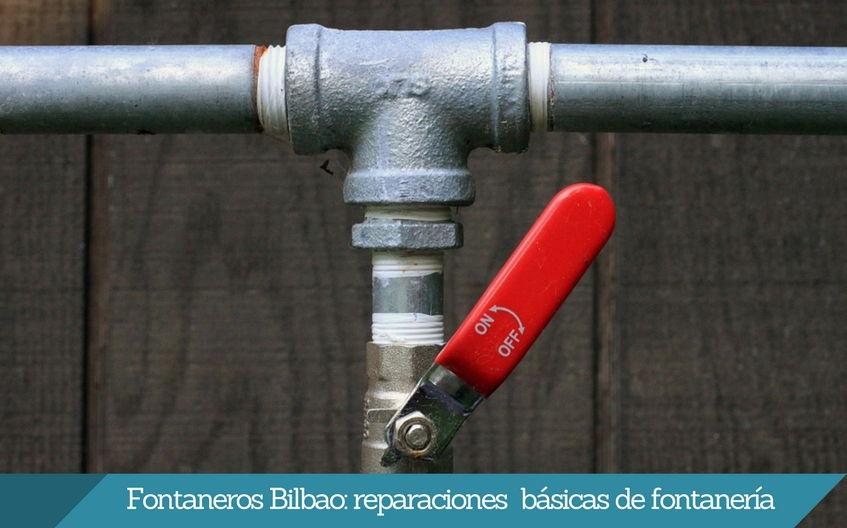 Rehabilitación de tuberías fontaneros bilbao Isurbide