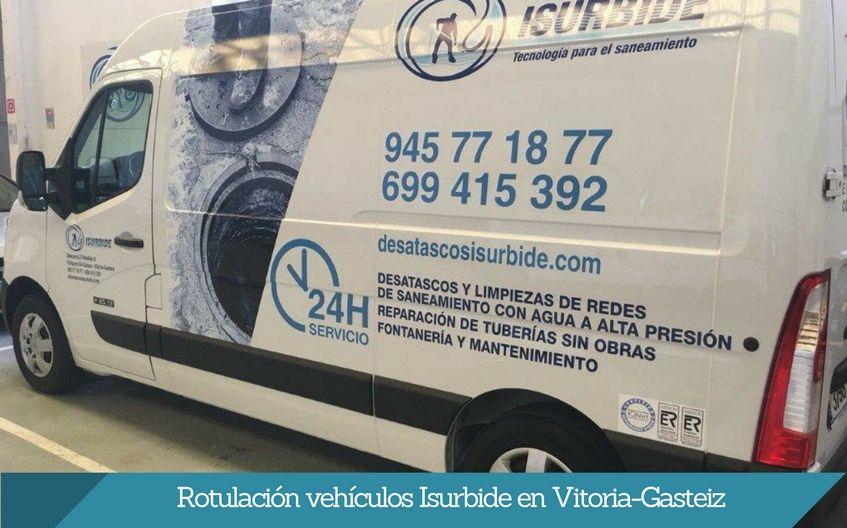rotulación furgonetas vitoria