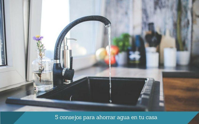 5 consejos para ahorrar agua en tu casa DESATASCOS ISURBIDE