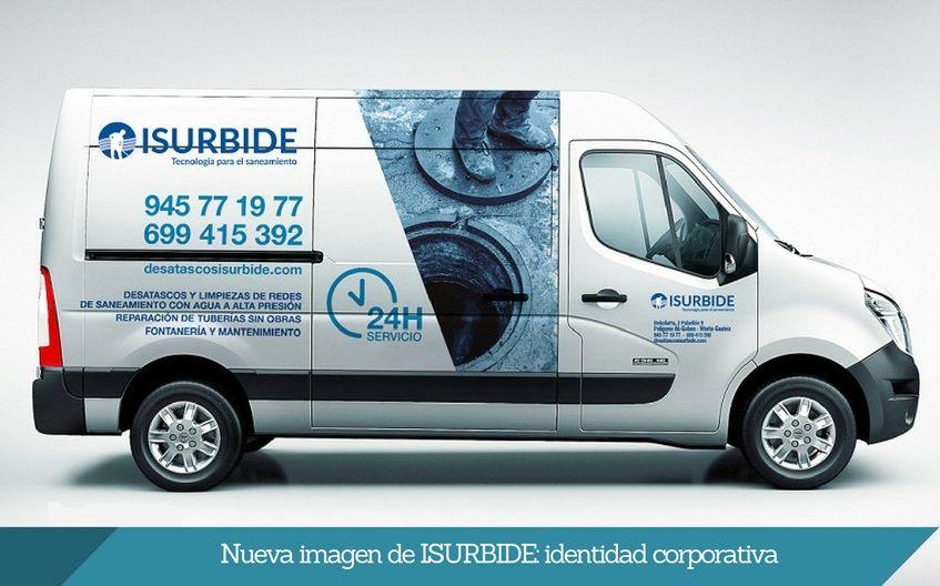 nueva identidad corporativa DESATASCOS ISURBIDE