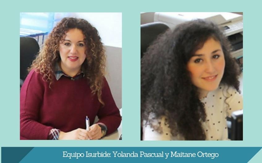 equipo isurbide Yolanda Pascual y Maitane Ortego