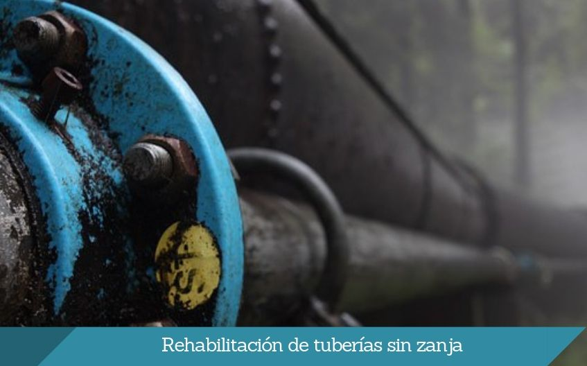 rehabilitacion de tuberias sin zanja isurbide